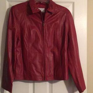 Sonoma lambskin leather jacket